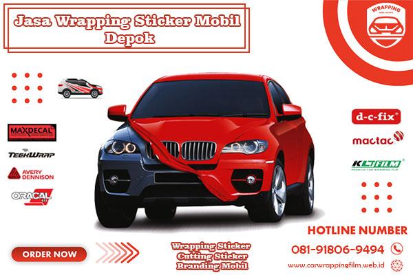 Jasa Wrapping Sticker Mobil Depok