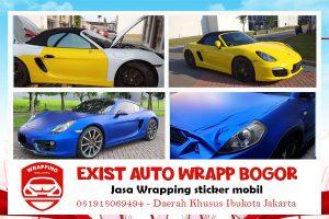 Jasa Wrapping Sticker Mobil Bogor