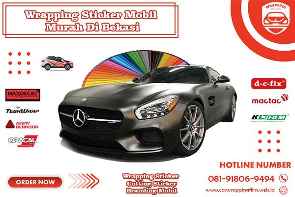 wrapping sticker mobil murah bekasi